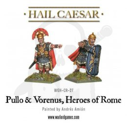 Caesarians Pullo and Vorenus, Heroes of Rome - 2 szt.