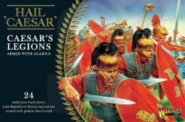 Caesar's Legions: Romans armed with gladius - 24 szt.