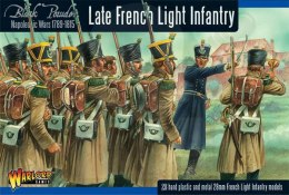 Napoleonic War Late French Light Infantry Waterloo - 28 szt.
