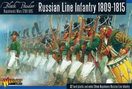 Napoleonic Wars: Russian Line Infantry 1809-15 - 32 szt.