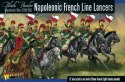 Napoleonic War French Line Lancers - 13 szt.