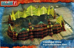 Hive Fortification Set - mur obronny obcych terrain Aliens SF