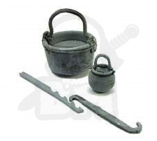 Cauldrons - 2 pcs