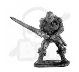 Barbarian with a sword - 1 pc.