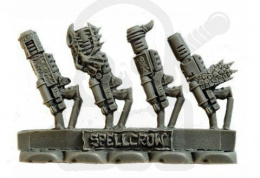 Karabin plazmowy SF Melting Gun 4 szt. Melting Guns for Salamanders Knights