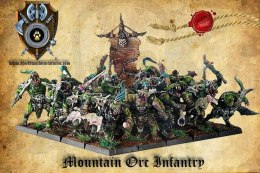 Mountain Orc Infantry - orki - 20 szt.