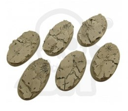 Ruins Bases, Oval 60mm - 4 pcs