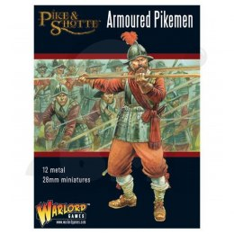 Pike & Shotte Armoured Pikemen - 12 szt.