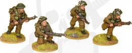British Commando Bren Teams 4 szt.