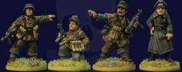 Late War German Infantry Command 4 szt.