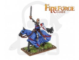 Noble on Barded Horse (Fluer-de-Lis) - rycerz knight