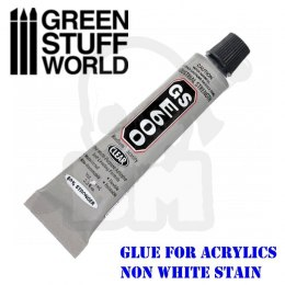 E600 Adhesive for Acrylic Plastics - 9ml
