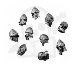 Knight helmets - 10 pcs