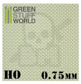 ABS Plasticard - Thread DIAMOND HO 0,75mm Textured Sheet