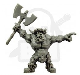 Orc with the Great Axe - Ork z Wielkim Toporem