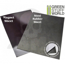 Magnetic Sheet COMBO - Self Adhesive