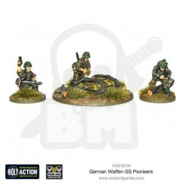 Waffen-SS Pioneers 3 infantry + Goliath