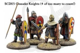 Crusader Knights on Foot (Hearthguards) 4 szt.