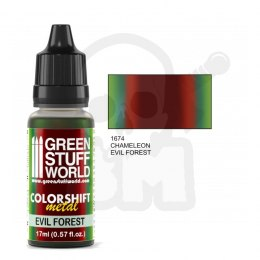Colorshift Chameleon Acrylic Paint Evil Forest 17ml