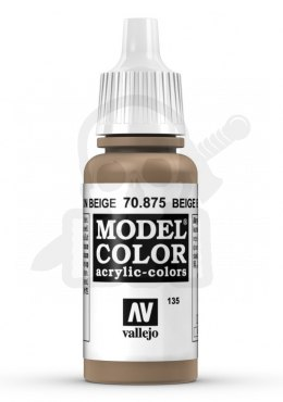 Vallejo 70875 Model Color 17 ml Beige Brown
