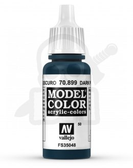 Vallejo 70899 Model Color 17 ml Dark Prussian Blue