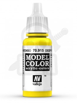 Vallejo 70915 Model Color 17 ml Deep Yellow