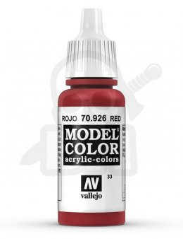 Vallejo 70926 Model Color 17 ml Red