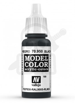 Vallejo 70950 Model Color 17 ml Black