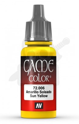 Vallejo 72006 Game Color 17 ml Sun Yellow
