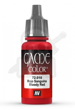 Vallejo 72010 Game Color 17 ml Bloody Red