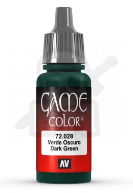 Vallejo 72028 Game Color 17 ml Dark Green