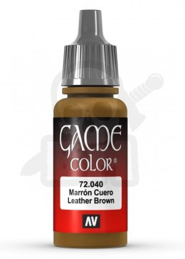 Vallejo 72040 Game Color 17 ml Leather Brown