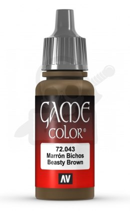Vallejo 72043 Game Color 17 ml Beasty Brown