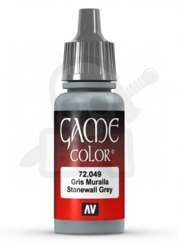 Vallejo 72049 Game Color 17 ml Stonewall Grey