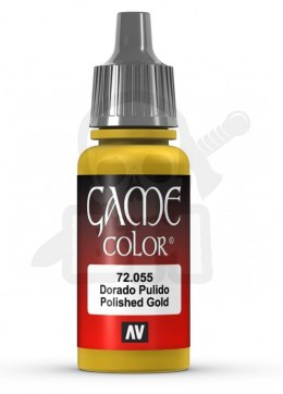 Vallejo 72055 Game Color 17 ml Polished Gold
