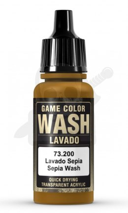 Vallejo 73200 Game Color Wash 17 ml Sepia