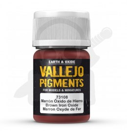 Vallejo 73108 Pigment 35 ml Brown Iron Oxide