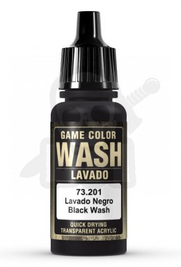 Vallejo 73201 Game Color Wash 17 ml Black