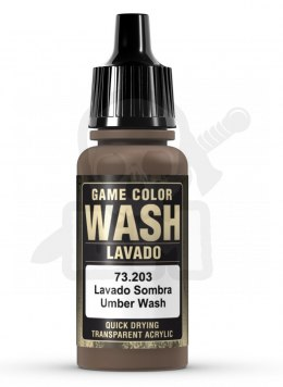 Vallejo 73203 Game Color Wash 17 ml Umber