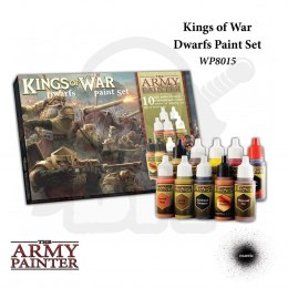 Army Painter Warpaints Kings of War Dwarfs Paint Set