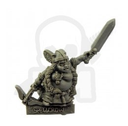 Female Gnome with Sword and Crossbow - Kobieta Gnom z Mieczem i Kuszą