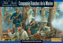 French Indian War 1754-1763: French Compagnie de la Marine