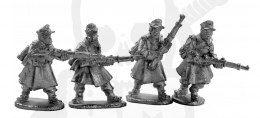 German Riflemen in Greatcoats 4 szt.