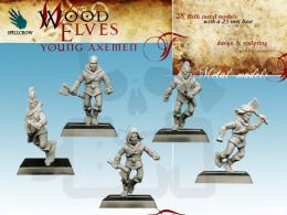 Wood Elves - Young Axemen