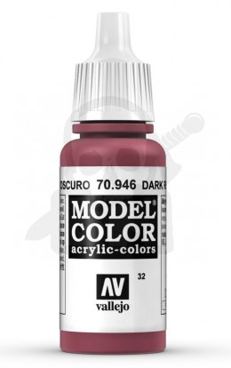 Vallejo 70915 Model Color 17 ml Dark Red