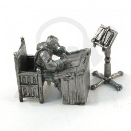 Amanuensis Monk with writing desk - set