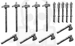 Metal weapon 15 pc