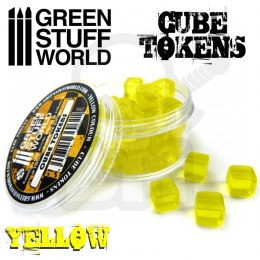 Yellow Cube tokens x50