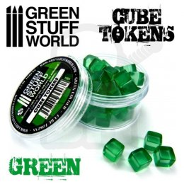 Green Cube tokens x50