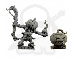 Dyniaq Mage and Spawn - Dyniaq Mag i Pomiot - potwór horror Halloween Pumpkin